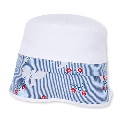 Sterntaler Baby-Mädchen Hut Mütze, Blau (Himmel 325), 45