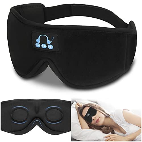 Bosttor Bluetooth Sleep Eye Mask Wireless Headphones, Upgrade Sleeping...
