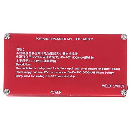 Máquina de soldadura por puntos, mini soldadora por puntos táctil automática eléctrica mini duradera con pantalla LCD para soldar