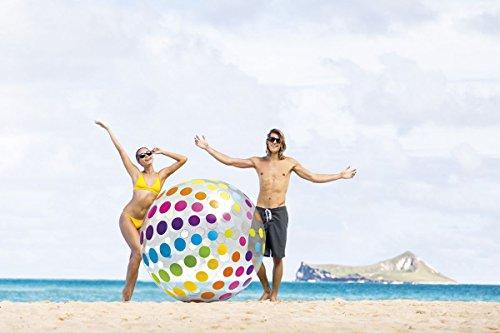 Intex großer aufblasbarer Wasserball Strandball Ball Ø183cm