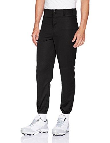 Alleson Athletic Men's Elastic Bottom Baseball Pants, XX-Large, Black