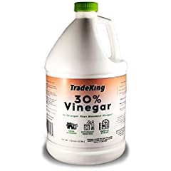 ✅ Hundreds of Uses - Perfect for deep cleaning, stain removal, gardening, and more. ✅ All-Natural Alternative - Replace cabinets full of harmful and expensive chemicals with TradeKing 30% Vinegar. ✅ 6x Strength - 6x stronger than standard vinegar. Us...