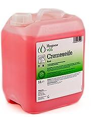 Hygiene VOS crème zeep 5 liter milde waslotion zeep crème roze voor alle gangbare druk dispensersystemen en zeepdispensers