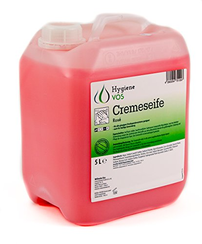 Hygiene VOS Savon Liquide pour les Mains pH Neutre pour une Utilisation Quotidienne. Formule Extra Douce et Ingrédients Biodégradables. Bouteille Économique de 5 Litres