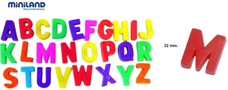 Miniland miniland97912 Magnetische Großbuchstaben in in in Jar (308-piece) B00B2O94SM | Vollständige Spezifikation  286442