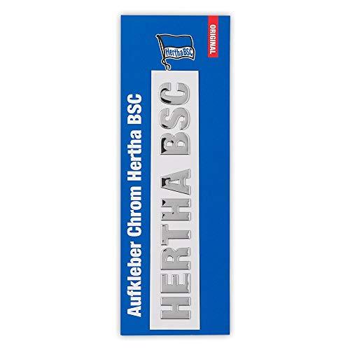 Hertha BSC Berlin Aufkleber - Chrom - Sticker, Autoaufkleber - Plus Lesezeichen I Love Berlin