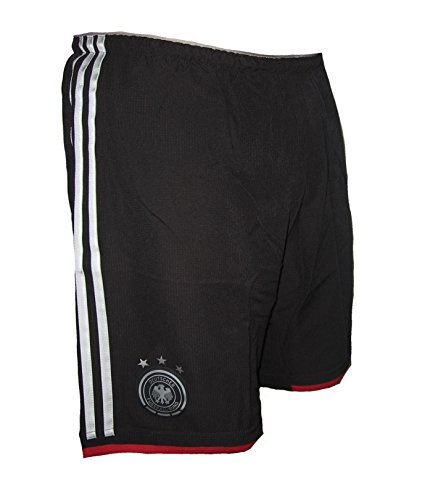 adidas Deutschland Authentic DFB Spieleredition Shorts Trikothose Away Weltmeister 2014 (L)