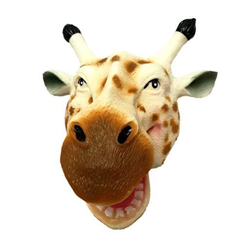 TOYANDONA Cabeza Animal Marioneta Mano Creativa Forma