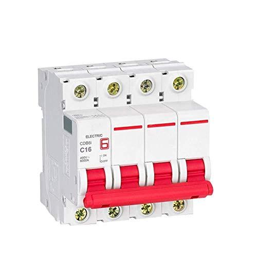 Disyuntor doméstico Interruptor de circuito CDB6I 2P Mini interruptor 230 / 400V AC 1A 2A 3A 6A 10A 16A 20A 25A 32A 40A 50A 63A 50HZ / 60Hz C Tipo de curva MCB-2_2A-10 A_2