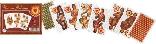 Piatnik Baraja de Poker Vienna Melange - Viena Pack de 2 de 55 Cartas