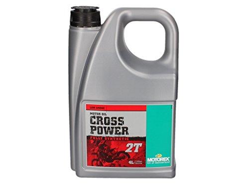 Motorex Cross Power 2T - Olio motore sintetico 4 litri
