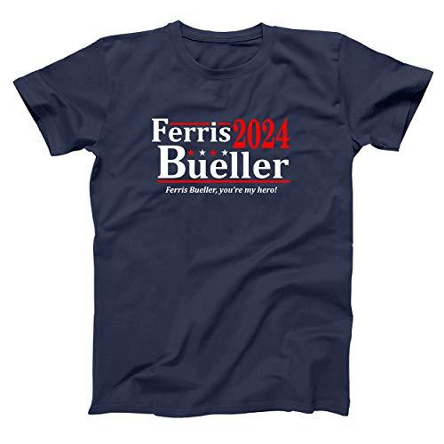 Ferris Bueller 2024 Election Men's Navy T-shirt