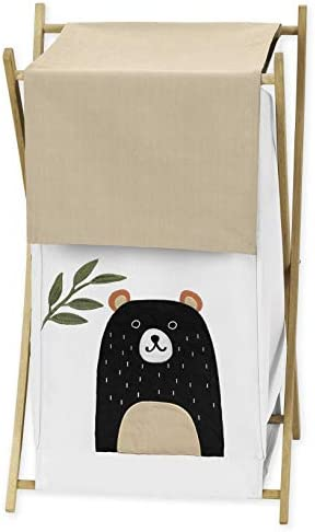 Sweet Jojo Designs Bear Forest Animal Baby Kid Clothes Laundry Hamper for Woodland Pals Collection product image