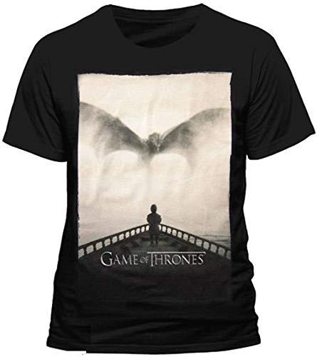 Official Juego de Tronos - Tyrion Lannister Dragon Silhouette -...