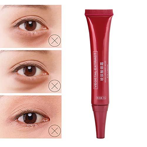 Crème contour des yeux, crème pour les yeux anti-âge, cernes, sacs, rides et soin hydratant anti-rides