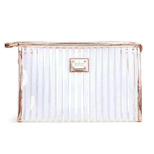 OYHBGK PVC Femmes Voyage Maquillage Sacs Étuis Bolsa Transparente Voyage Cosmétique Sac Pour Maquillage Cosmétique Sac Organisateur Voyage Wash Bag