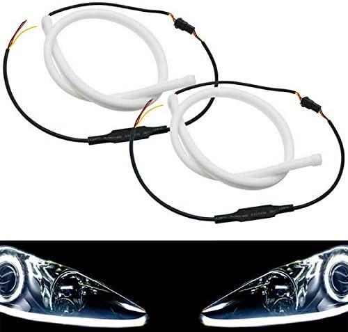 Same day shipping shop TOTMOX Daytime Running Light 2 Pcs DRL Turn 60cm Signal Lighting