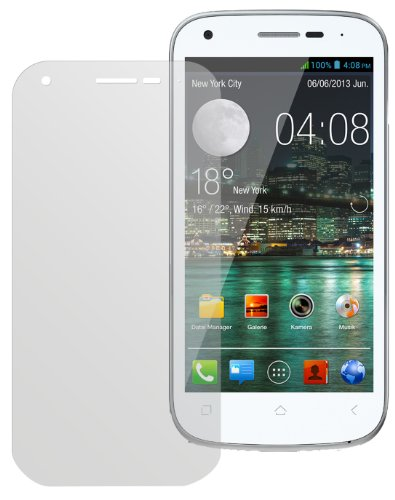 dipos I 2X Schutzfolie matt kompatibel mit Wiko Cink Peax 2 Folie Bildschirmschutzfolie