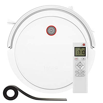Robot Vacuum Cleaner, Auto Self-Charging Robotic Vacuum ,1800Pa Suction,Slim, Quiet, Tangle-Free, Up to 150min Runtime Good for Pet Hair, Hard Floors, Thin Carpets, Anti-Drop Floor Sweeper Robot