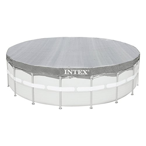 Intex Deluxe Pool Cover - Poolabdeckplane Deluxe - Ø 549cm - Für Ultra Frame Pool