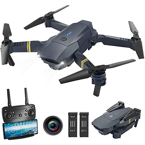 DCLINA Drone FPV WiFi con videocamera HD 1080P Video Live grandangolare con Funzione sensore gravità Mantenimento dell'altitudine RTF One Key Take off/Landing Compatibile con Auricolare VR