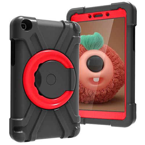 Funda para Samsung Galaxy Tab A 8.0 2019 T290 T295 para tableta de niños, funda protectora de cuerpo completo con mango de doble capa a prueba de golpes