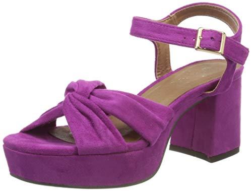 El Caballo Motillejo, Zapato de tacón Mujer, Orquídea, 36 EU