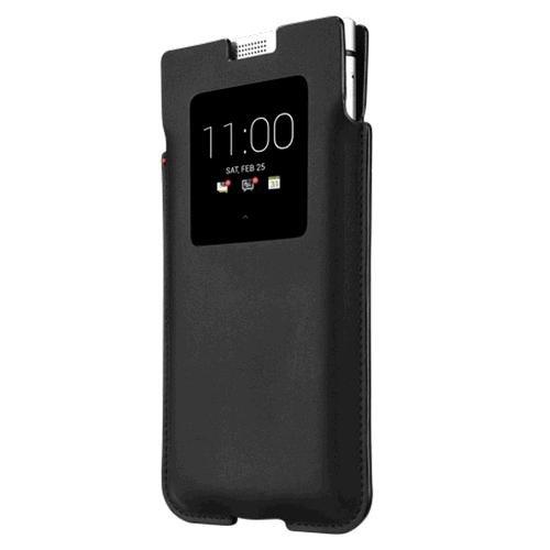 Blackberry Keyone funda de bolsillo inteligente , color negro ...
