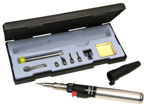 Blazer SI-100CR Excalibur Multi-Purpose Butane Torch and Hot Air Soldering Kit