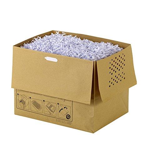Rexel Aktenvernichter-Abfallbeutel, 40 Liter, 20 Stück, Für Rexel Mercury 40L Aktenvernichter, 1765029EU