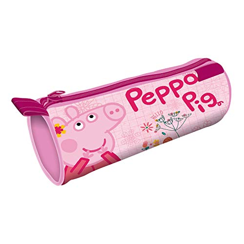 ARDITEX PP12886 Lapicero Portatodo Cilíndrico de 21.5x7.5x7.5cm de EONE-Peppa Pig