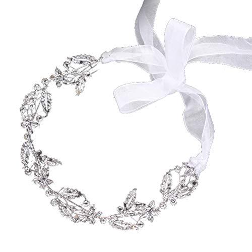 Guirnalda para el cabello Cofre de novia Corona de cristal Corona con...