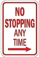 アクティビティサインキャンプ場サインパークサイン右矢印サインでいつでも停止なし、ヴィンテージマンケイブガレージサインバーサインメタルウォールティンサインウォールアートシンボルポインターデカールメタルサイン