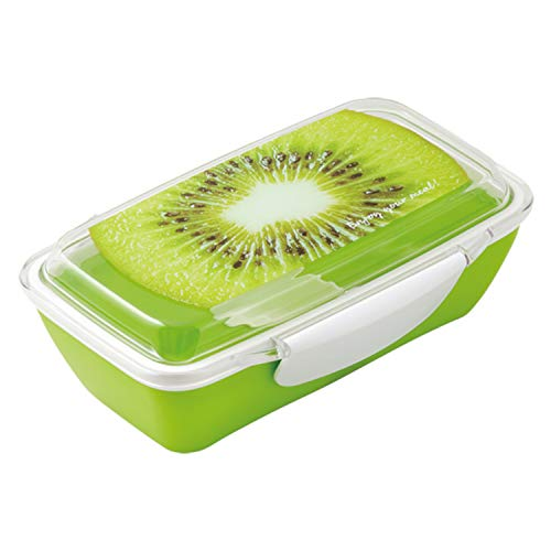 小森樹脂 お弁当箱 フレスコ セパレートランチボックス キウイ 500ml グリーン