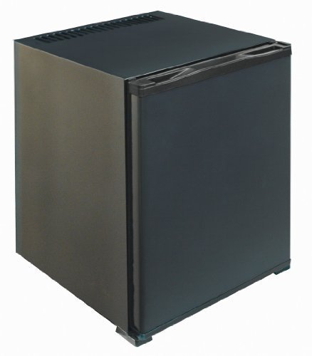 FERBOX MINIBAR 40L - Minibar silencioso (0 dB), Capacidad: 40 litros, Descongelación automática, Bajo Consumo, Rango de Temperatura (+3º/+8º), 53W, Puerta Reversible (Negro)