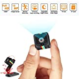 Mini Hidden Camera Spy Cop Cam Wireless with Video Camera Full HD 1080P Night Vision Motion Detection Support SD Card...