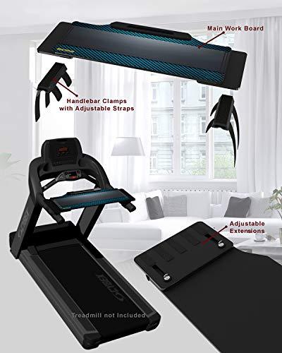 DigitalArts.ws Walk with Me Pro-XT Plus Expandable Treadmill Desk Attachment (Metallic Blue)