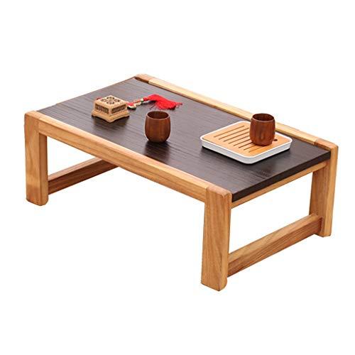 Tables De Lit Baie Vitrée Tatami Basse Salon Chambre À Coucher D'étude Basse Balcon Maison Basse en Bois Massif Cadeau