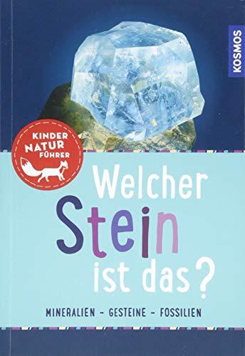 Welcher Stein ist das? Kindernaturführer: 85 Mineralien, Gesteine, Fossilien