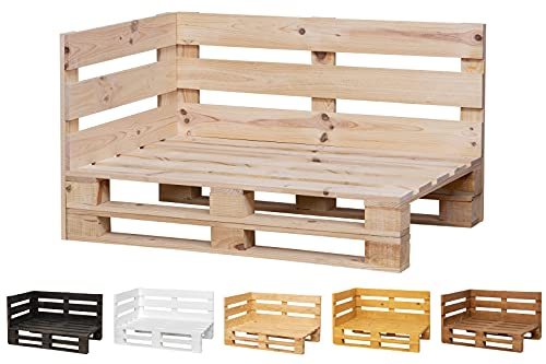 Chaise Longue Sofa PALETS Lijado Y Cepillado - Medida 120cm X 80cm -Interior/Exterior Nuevo-Natural Sillon PALETS/Sofa para Patio