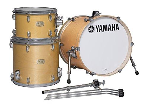 "Yamaha Stage Custom Birch 3pc Bop Drum Shell Pack - 18"" Kick, Natural Wood"