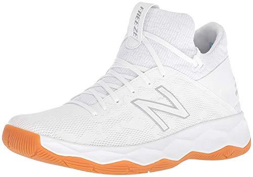 New Balance Men's FreezeLX 2.0 Box Lacrosse Shoe, White, 10.5 M US