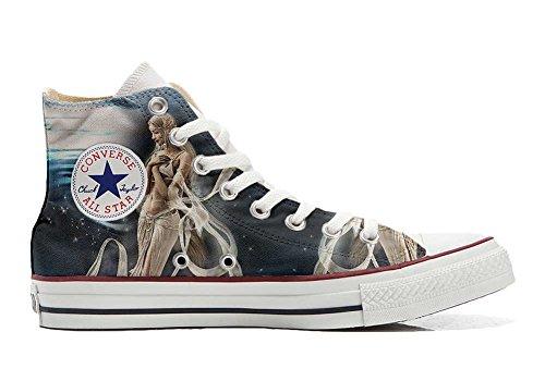 MYS Sneaker Original Hi Customized personalisiert Schuhe (gedruckte Schuhe) FATA Spaziale TG40