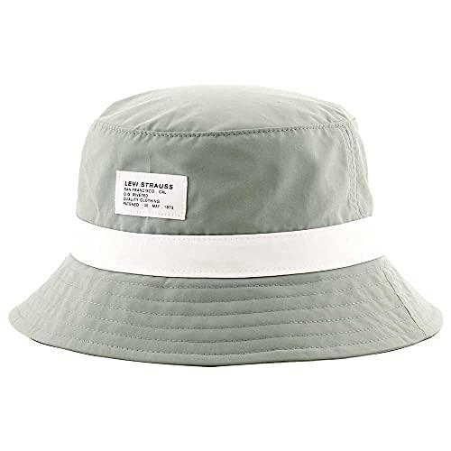 Levi's Seasonal Bucket Hat Cappello a Falda Larga, Light Blue, M Men's
