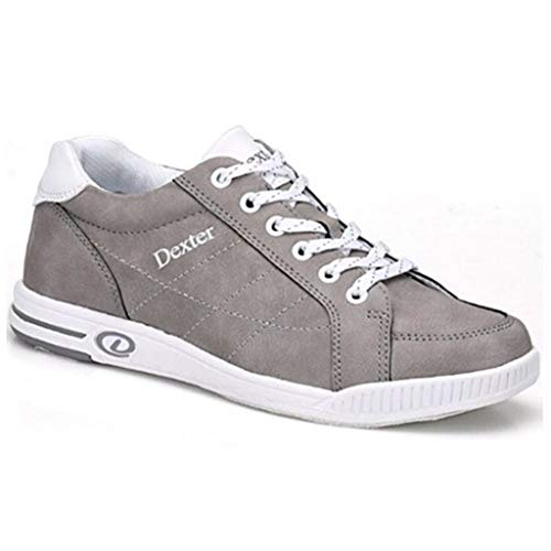 Dexter Womens Kristen Bowling Shoes- 8 1/2, Dove Grey, 8.5