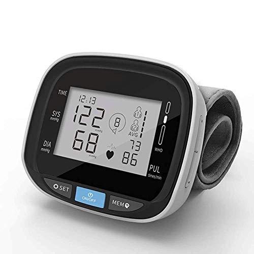 Blutdruckmessgerät für das Handgelenk mit sprechender Funktion, Herzfrequenzmesser, LCD-Display, Herzfrequenzmesser, Blutdruckmessgerät