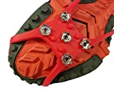 Ice Walker Nano Spikes Traction Cleats for Running on ICY Streets and Trails