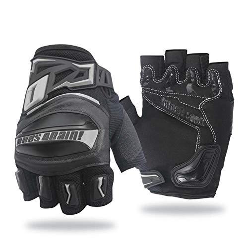 Wasserdicht und winddicht Winter Bike Handschuhe Touchscreen Offroad Motorrad Handschuhe Gr. XL, Mg02d Grau.