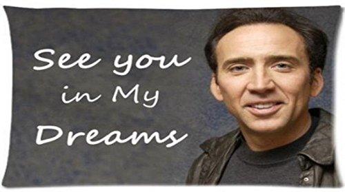 "Nicoge Custom Nicolas Cage Pillowcase Standard Size Design Cotton Pillow Case P-170 20""x30"" Inch"