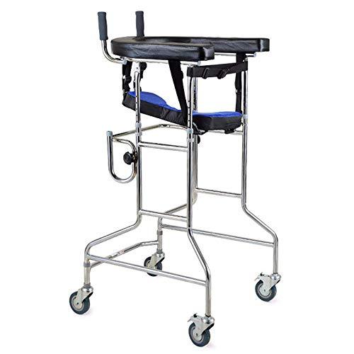 SISHUINIANHUA Béquilles Aluminium Walker Support Équipement de rééducation des Membres inférieurs Debout Walker Équipement de Formation des Membres inférieurs